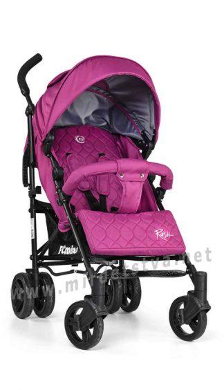 Розовая детская коляска EL CAMINO ME 1013-9 Rush