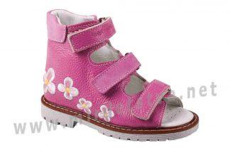 Розовые детские ортопедические сандалии 4Rest Orto 06-126