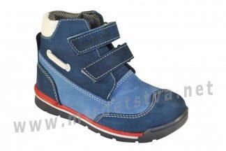 Синие кроссовки с высоким задником 4Rest Orto 06-551