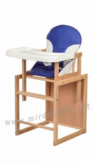 Синий стульчик-трансформер для кормления Bambi CH-L1