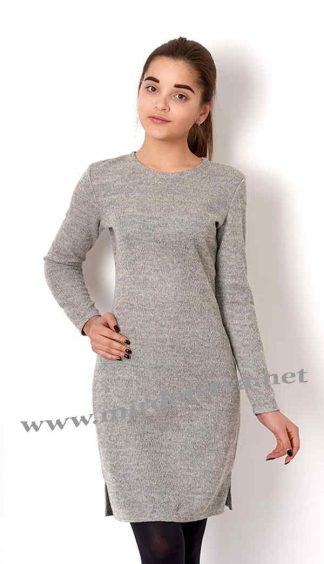 Утепленное платье на подростка Mevis 2658-02