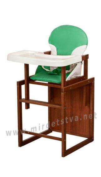 Зеленый стульчик для кормления ребенка Bambi CH-D3