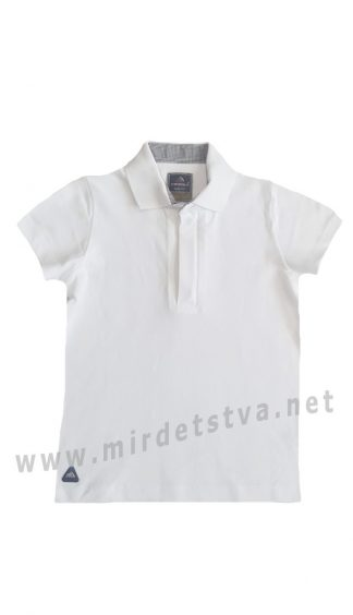Белая футболка-поло на мальчика CEGISA 7072 (7073)
