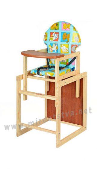 Деревянный стульчик для кормления Vivast M V-002-10