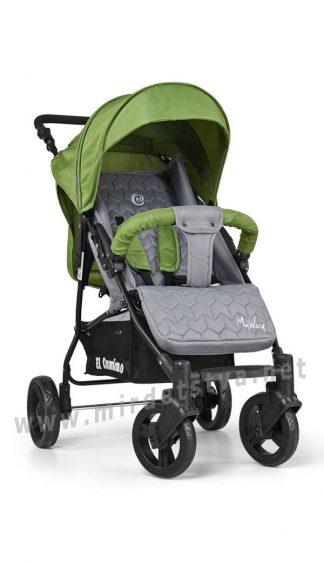 Детская коляска с анатомической спинкой EL CAMINO ME 1012-5 My way