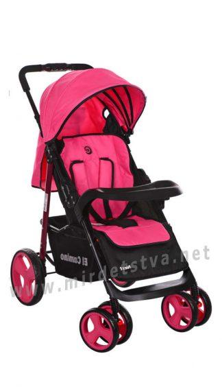Детская коляска с большими колесами EL CAMINO M 3444-8 Next