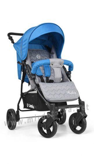 Детская коляска с большими колесами EL CAMINO ME 1012-4 My way