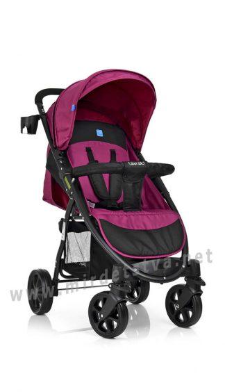 Детская коляска с поворотными колесами Bambi M 3409-3-8