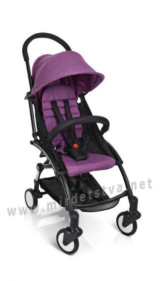Детская коляска со съемным бампером EL CAMINO M 3548-9-2 Yoga