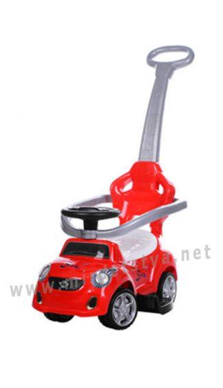 Детская машинка с родительской ручкой Bambi FD-6812-3