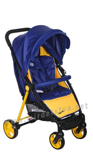 Детская прогулочная коляска-книжка EL CAMINO M 3435-4 Prego