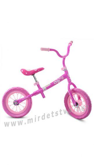 Детский беговел для девочек Profi Kids M 3255-1