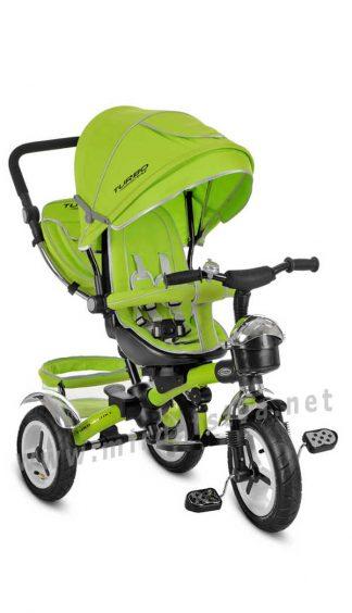 Детский велосипед с поворотным сиденьем Turbo Trike M 3200-4A