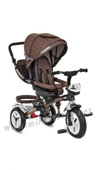 Детский велосипед с поворотным сиденьем Turbo Trike M 3200A-13