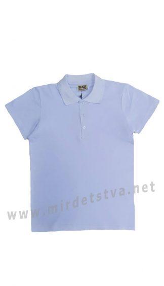 Голубая футболка-поло на мальчика CEGISA 7170