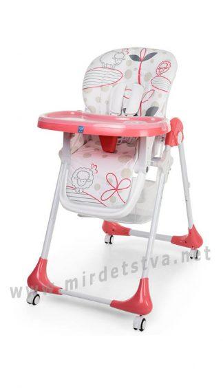 Компактный стульчик для кормления Bambi M 3233-17
