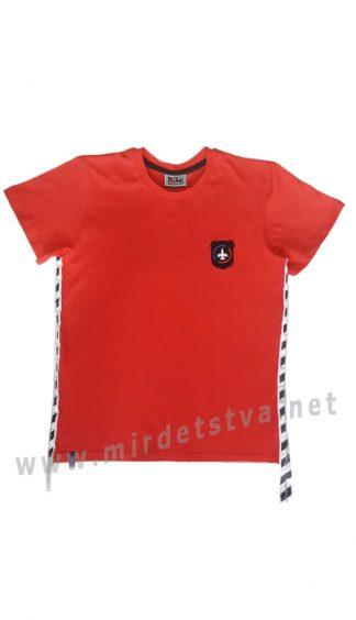 Красная футболка на мальчика-подростка CEGISA 7165
