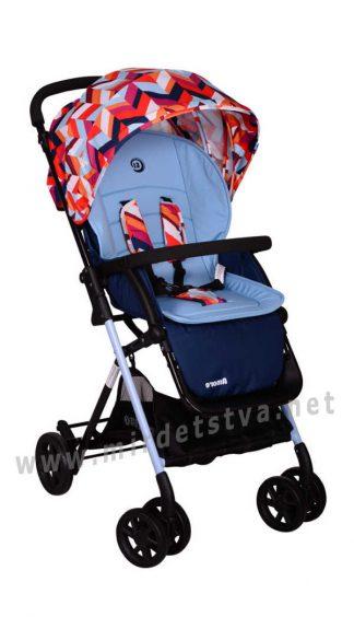 Легкая прогулочная коляска EL CAMINO Amore M 3405-12-2