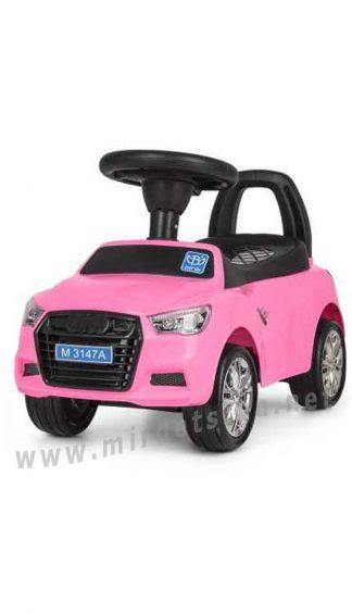Машинка-толокар для девочки Bambi M3147A(MP3)-8