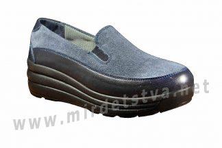 Модные кожаные туфли для девочки-подростка ортопедия 4Rest Orto 17-008