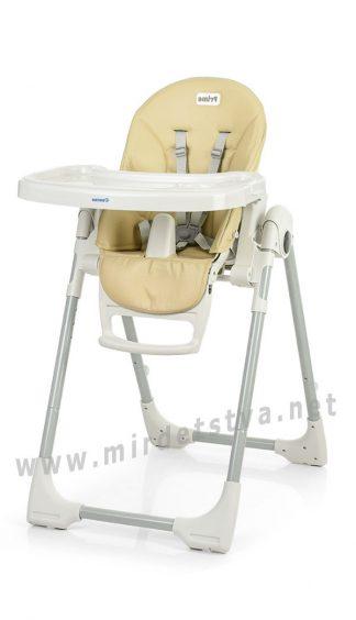 Мягкий стульчик для кормления малыша EL CAMINO ME 1038 Prime ivory