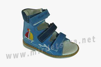 Ортопедические кожаные босоножки для мальчика 4Rest Orto 06-110