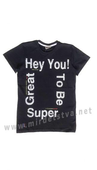 Подростковая футболка с надписями CEGISA 7093