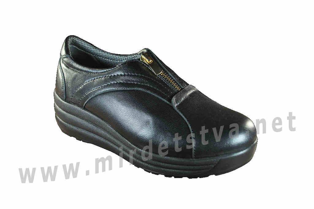 a084adb47 Купить Подростковые ортопедические кожаные туфли 4Rest Orto 17-005 в ...