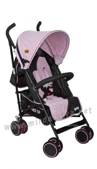Прогулочная коляска для девочки EL CAMINO King M 3427-8