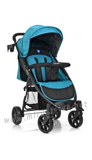Прогулочная коляска с поворотными колесами Bambi M 3409-3-15