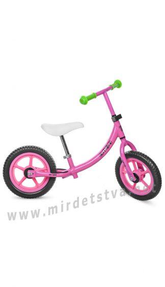 Розовый детский беговел Profi Kids M 3437-2