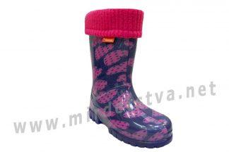 Сапоги резиновые для девочек Demar Twister Lux Print 0039 (0038)