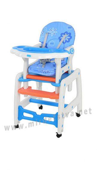 Стул-качалка для кормления и творчества малыша Bambi M 1563-1-4