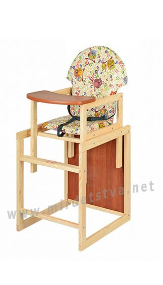 Стульчик для кормления деревянный Vivast M V-002-8