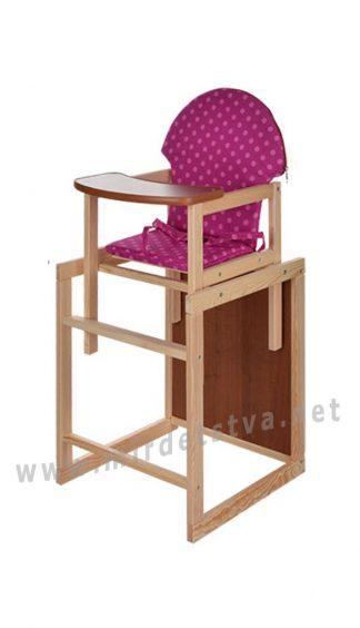 Стульчик и столик 2 в 1 для кормления Vivast M V-002-25