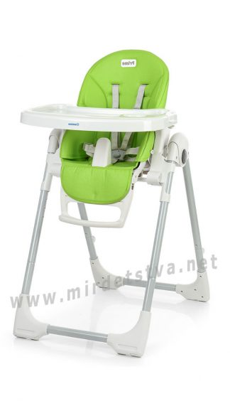 Стульчик со съемным столиком и подносом EL CAMINO ME 1038 Prime green apple