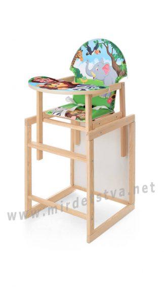 Стульчик со столом для кормления Vivast M V-122-11 PU