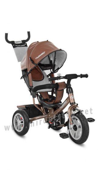 Трехколесный велосипед с мягким сиденьем Turbo Trike M 3113AL-13