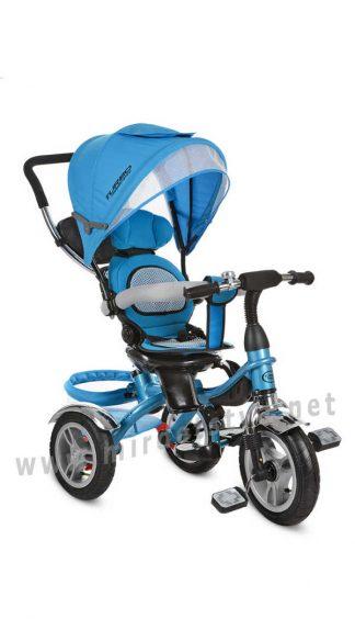 Трехколесный велосипед с надувными колесами Turbo Trike M 3114-5A