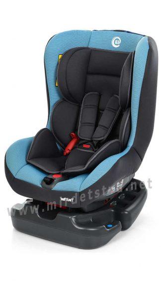 Автокресло детское с рождения до 3х лет EL CAMINO ME 1010 Infant blue shadow