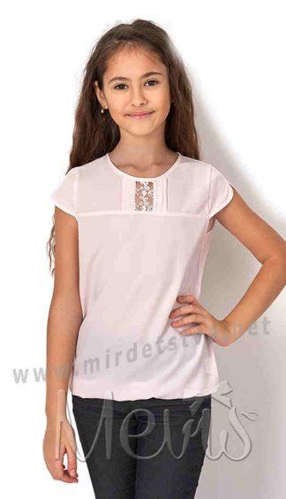 Ажурная блузка девочке Mevis 2751-02