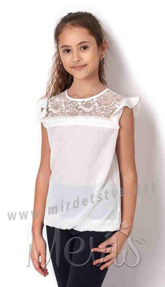Блузка из шифона для девочки Mevis 2682-01
