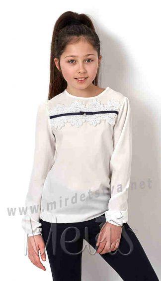 Блузка с длинным рукавом для девочки Mevis 2672-01