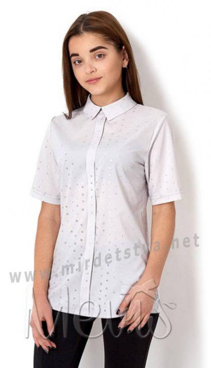 Блузка с отложным воротником Mevis 2660-01