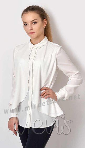 Блузка шифоновая с длинным рукавом Mevis 2689-01