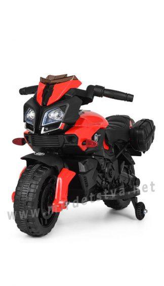 Детский мотоцикл со страховочными колесами Bambi M 3832L-2-3