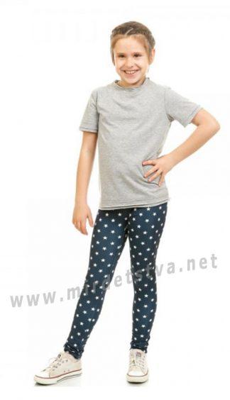 Эластичные лосины с белыми звездами KidsCouture 50011101