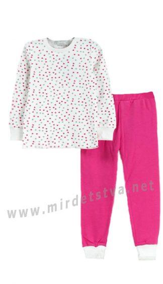 Хлопковая пижама для девочек KidsCouture 180011621