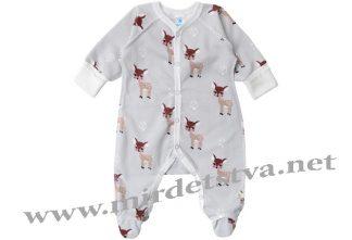 Комбинезон для малышей швы наружу Minikin 1819701