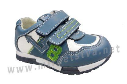 Кроссовки из кожи для мальчика B&G LD180-415